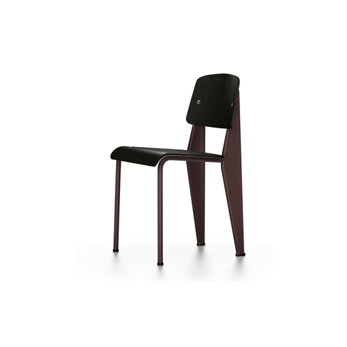 Vitra - Standard Chair - Chocolate / Dark Oak - Lekker Home