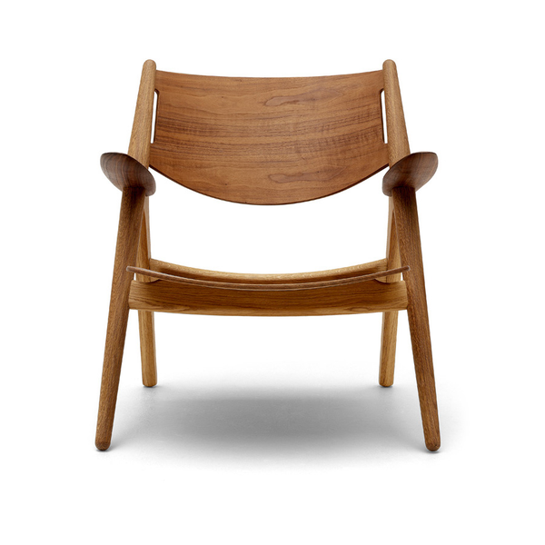 Carl Hansen - CH28 Lounge Chair - Oak/Walnut / Lacquer - Lekker Home