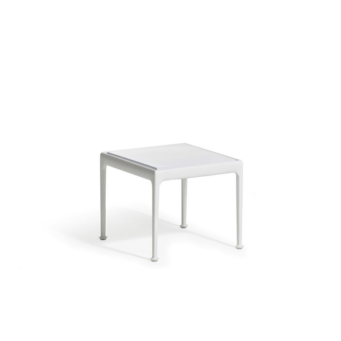 Knoll - 1966 End Table - Yellow/White / One Size - Lekker Home