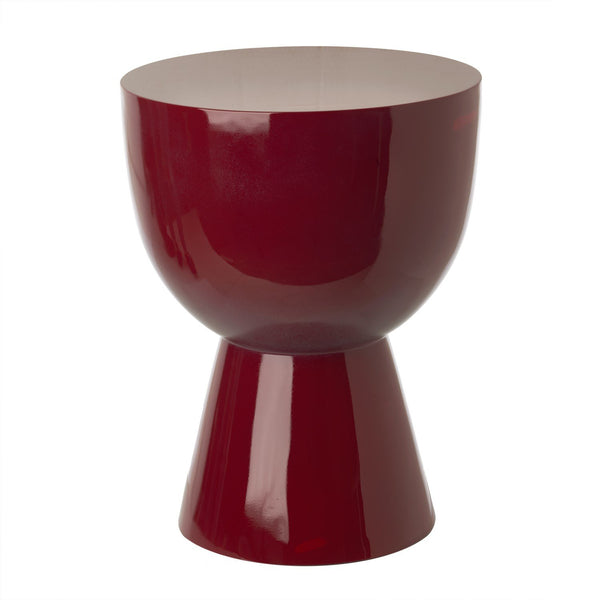 Pols Potten - Tam Tam Stool - Ruby Red / One Size - Lekker Home
