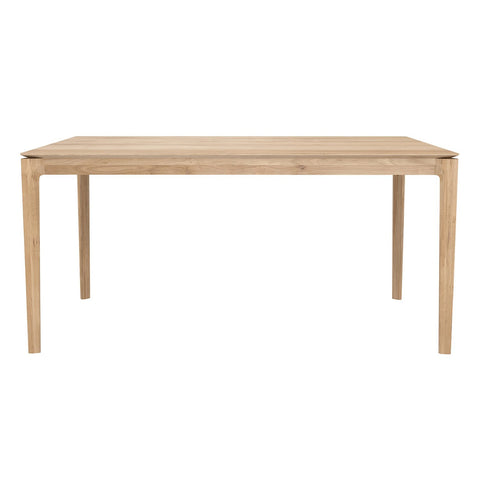 "Ethnicraft NV - Bok Dining Table - White Oak / 63"" - Lekker Home"