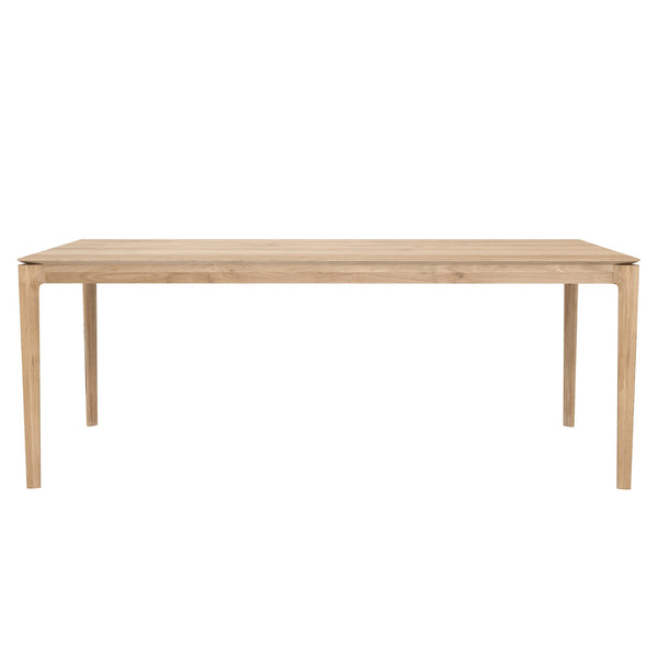 "Ethnicraft NV - Bok Dining Table - White Oak / 79"" - Lekker Home"