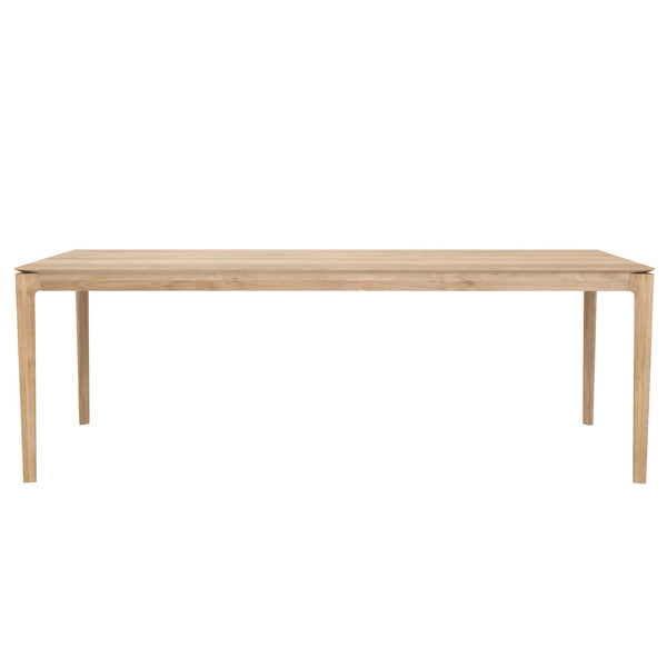 "Ethnicraft NV - Bok Dining Table - White Oak / 87"" - Lekker Home"