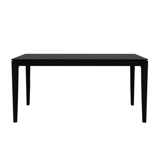 "Ethnicraft NV - Bok Dining Table - Blackstone Oak / 63"" - Lekker Home"