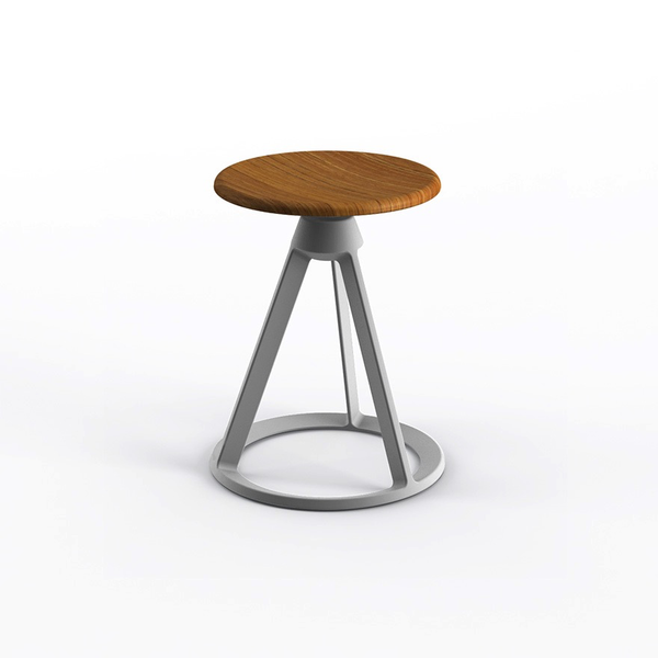 Knoll - Piton™ Fixed Height Stool Outdoor - Lekker Home - 9