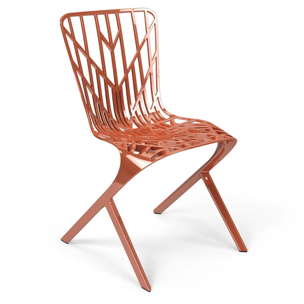 Knoll - Washington Skeleton™ Aluminum Side Chair - Lekker Home - 7