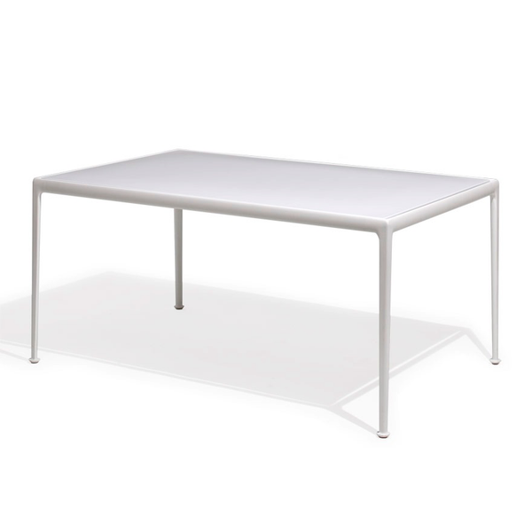 Knoll - 1966 Dining Table - White / Rectangle - Lekker Home