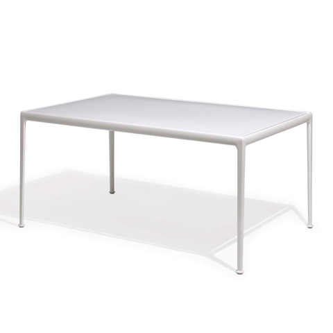 Knoll - 1966 Dining Table - Blue/White / Square - Lekker Home