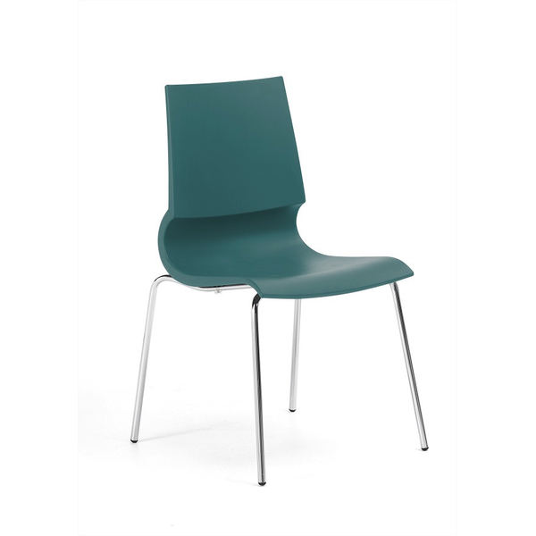 Knoll - Gigi® Armless Stacking Chair - Lekker Home - 6
