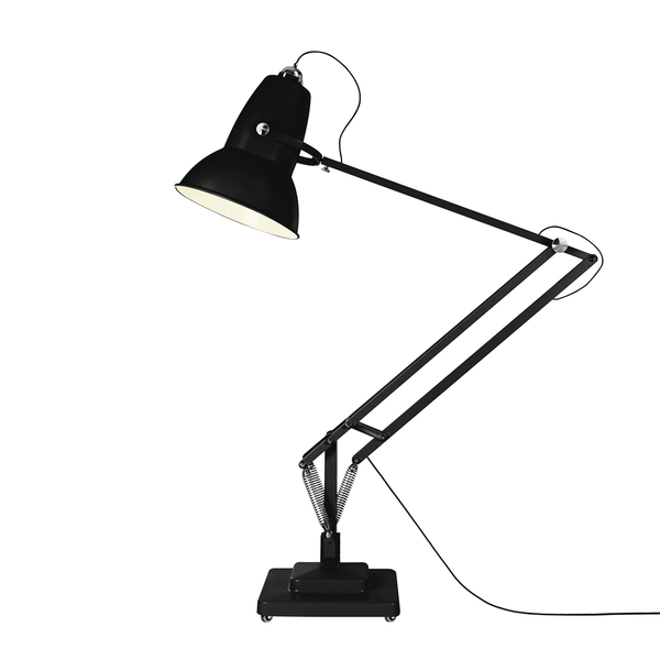 Anglepoise - Original 1227™ Giant Floor Lamp Outdoor - Satin Jet Black / One Size - Lekker Home