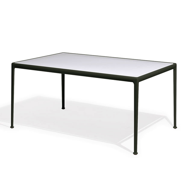 Knoll - 1966 Dining Table - Green/White / Rectangle - Lekker Home