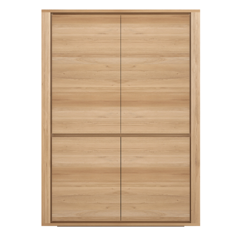 Ethnicraft NV - Oak Shadow Cupboard - Lekker Home - 1