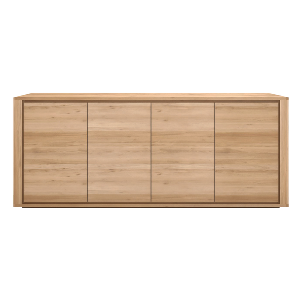 Ethnicraft NV - Oak Shadow Sideboard - Lekker Home - 1
