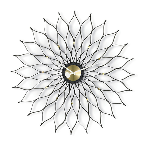 Vitra - Nelson™ Sunflower Clock - Lekker Home