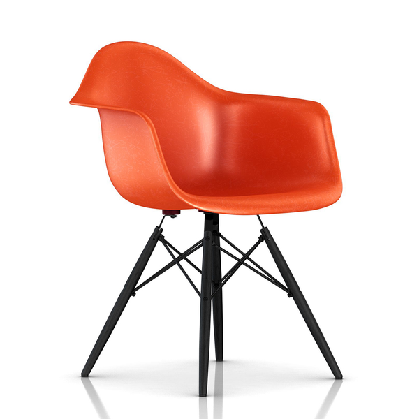 Herman Miller - Eames® Molded Fiberglass Armchair - Wood Dowel Base - Lekker Home - 34