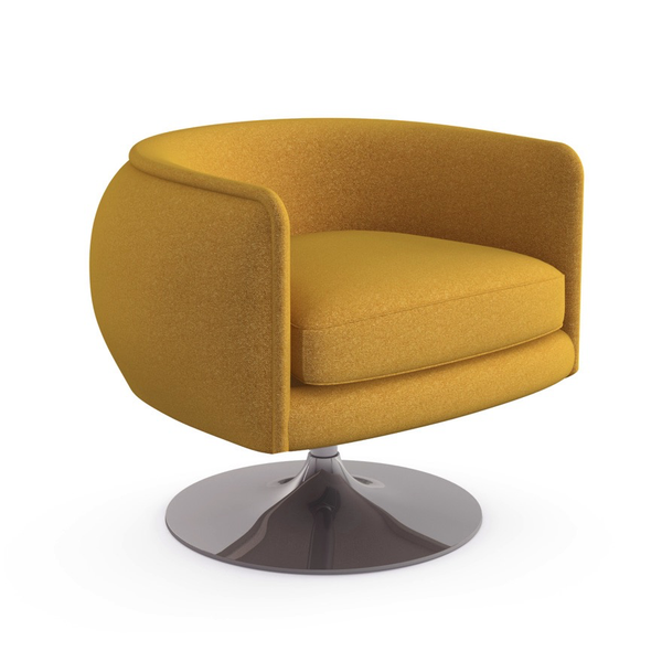 Knoll - D'Urso Swivel Chair - Lekker Home - 14
