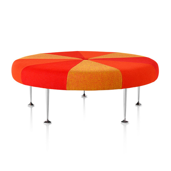 Herman Miller - Girard Color Wheel Ottoman - Lekker Home - 10
