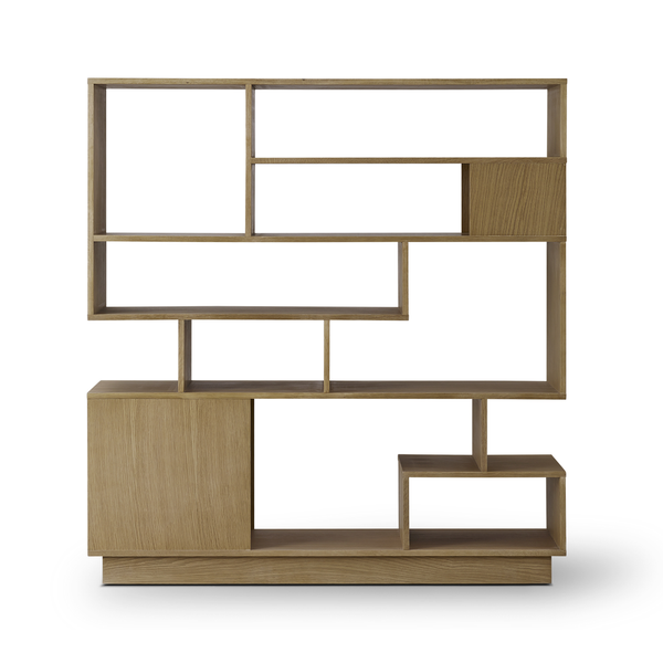 Eilersen - Penthouse Bookcase - Lacquered Natural Oak / One Size - Lekker Home