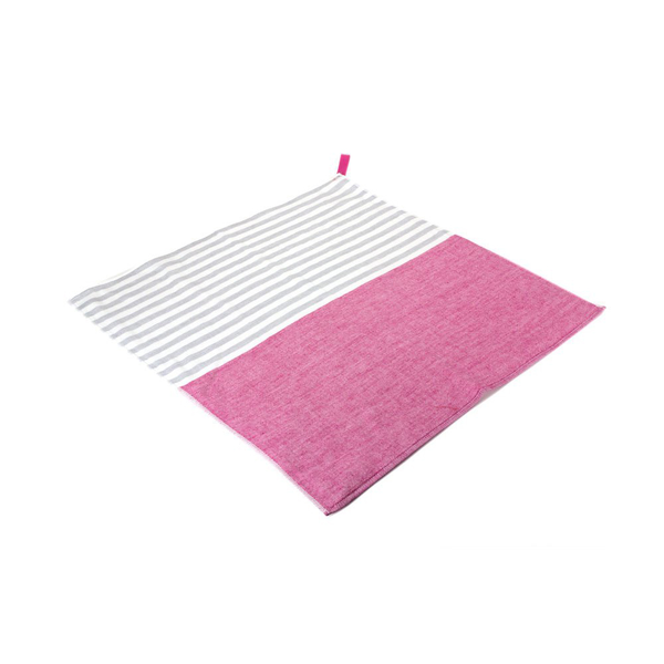 Yoshii Towel - Square Towel - Pink / One Size - Lekker Home