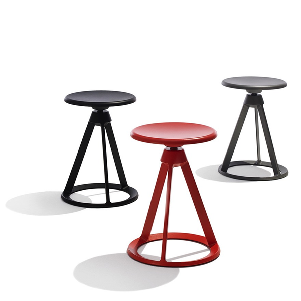 Knoll - Piton™ Fixed Height Stool Outdoor - Lekker Home - 3