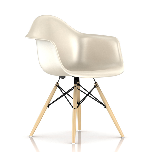Herman Miller - Eames® Molded Fiberglass Armchair - Wood Dowel Base - Lekker Home - 26