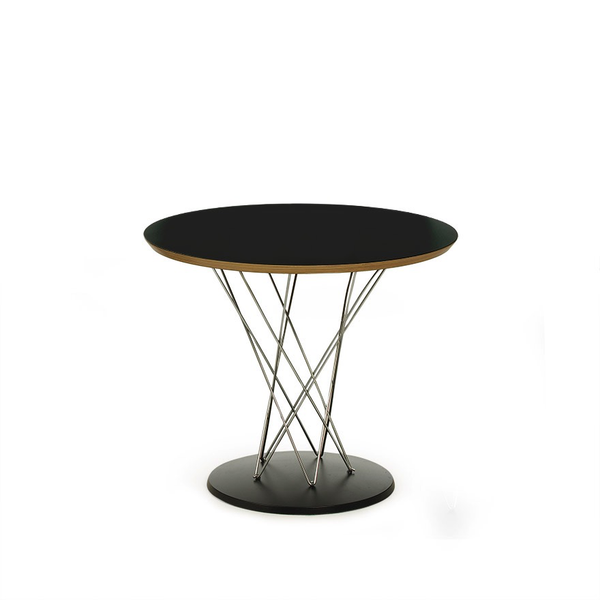 "Knoll - Cyclone™ Side Table - Black Laminate / 24"" - Lekker Home"