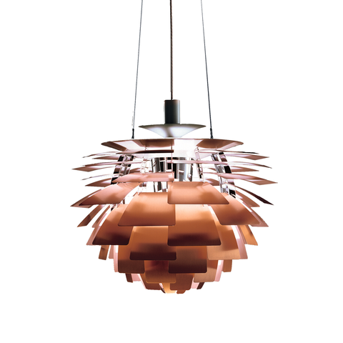"Louis Poulsen - PH Artichoke Pendant - Copper / 23.6"" - Lekker Home"