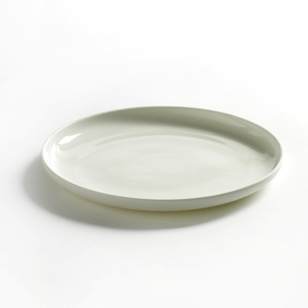 Serax - Base Low Plate - Matte White / Small - Lekker Home