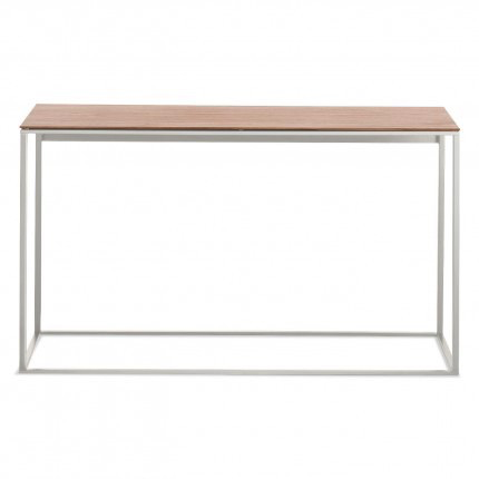 Blu Dot - Minimalista Console Table - Walnut / White - Lekker Home