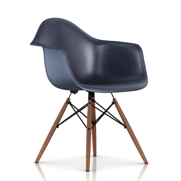 Herman Miller - Eames® Molded Fiberglass Armchair - Wood Dowel Base - Lekker Home - 19
