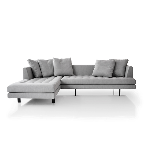 Bensen - Edward Sectional Sofa - Base Fabric / Small/Left Facing - Lekker Home