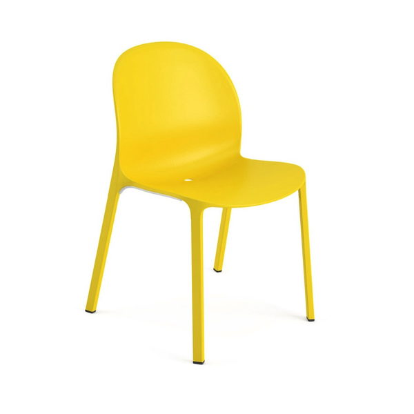 Knoll - Olivares Aluminum Chair - Yellow / One Size - Lekker Home