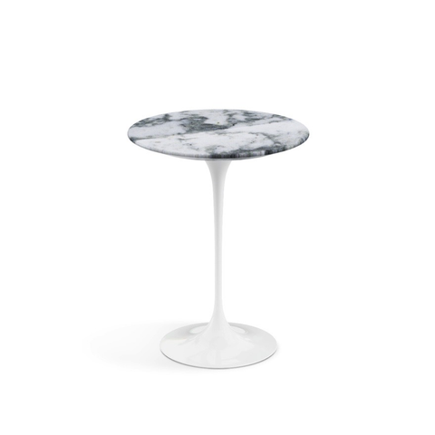 "Knoll - Saarinen Side Table 16"" Round - Lekker Home"