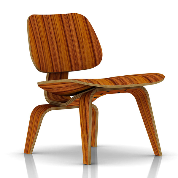 Herman Miller - Eames® Molded Plywood Lounge Chair - Wood Base - Lekker Home - 7