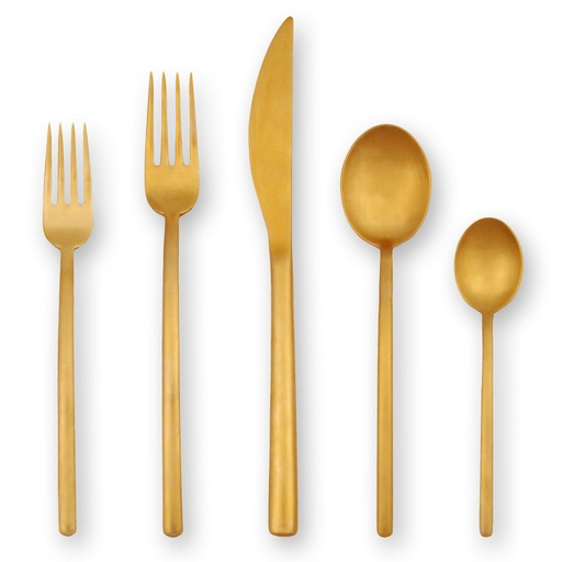 MEPRA S.p.A. - Due Ice Oro Flatware Collection - Lekker Home