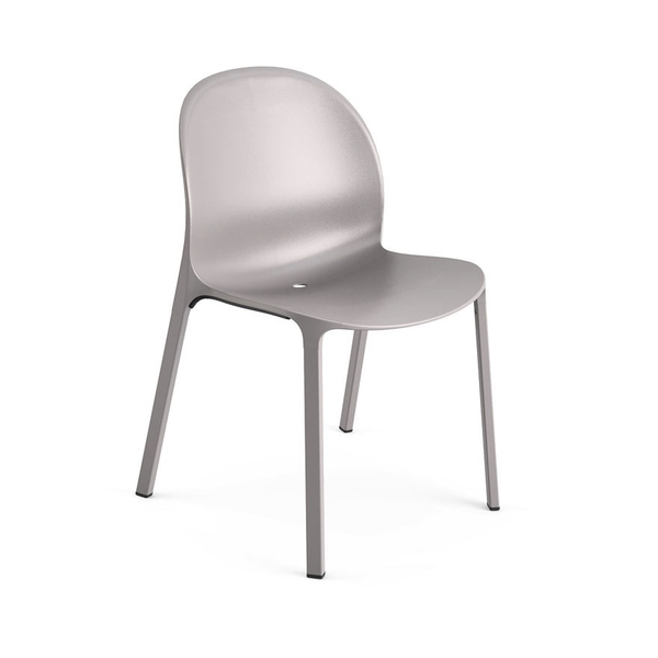 Knoll - Olivares Aluminum Chair - Grey / One Size - Lekker Home
