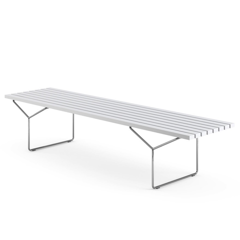 Knoll - Bertoia Bench - White / One Size - Lekker Home