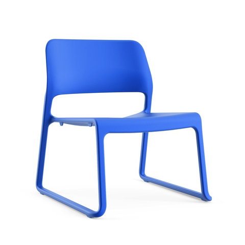 Knoll - Spark® Series Lounge Chair - Blue / One Size - Lekker Home