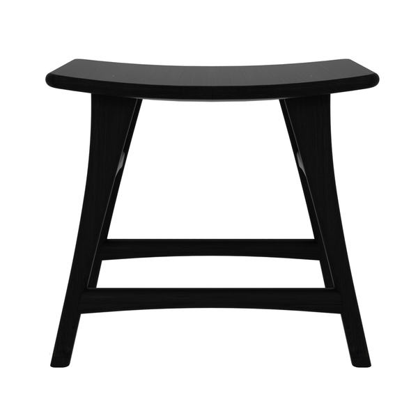 Ethnicraft NV - Osso Stool - Blackstone Oak / Dining - Lekker Home