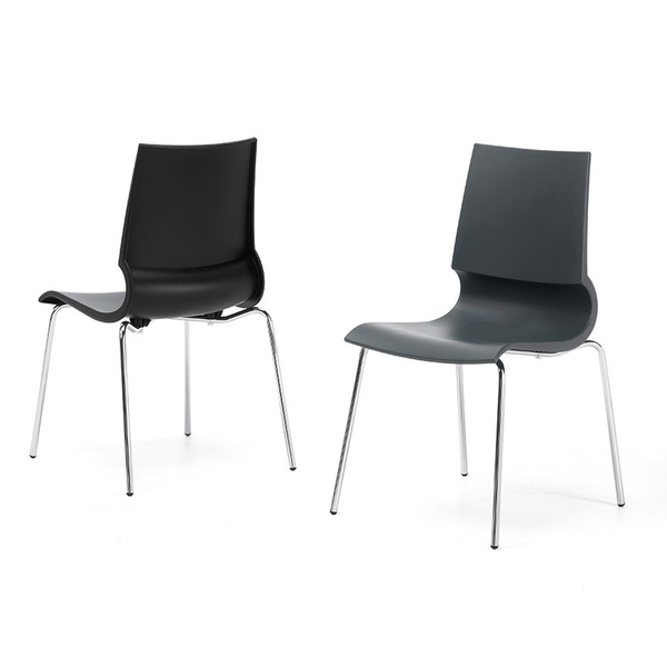 Knoll - Gigi® Armless Stacking Chair - Lekker Home - 2