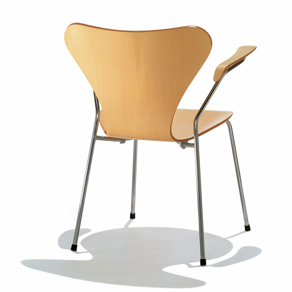 Fritz Hansen - Series 7 Arm Chair - Wood - Lekker Home - 2