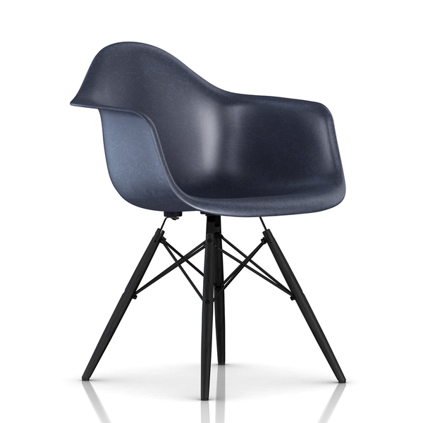 Herman Miller - Eames® Molded Fiberglass Armchair - Wood Dowel Base - Lekker Home - 17