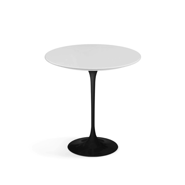"Knoll - Saarinen Side Table 20"" Round - Lekker Home - 17"