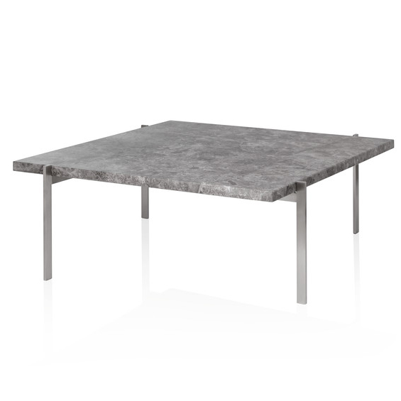 Fritz Hansen - PK61™ Coffee Table - Marble Grey Brown / PK61 - Lekker Home