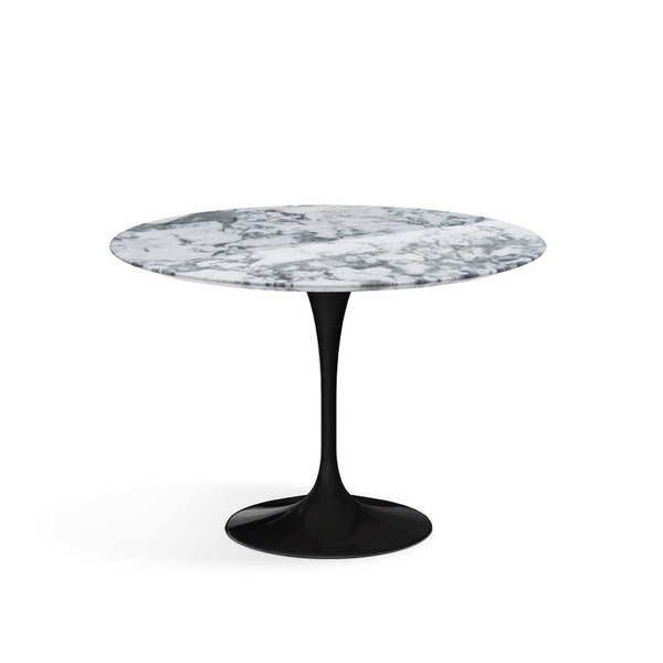Saarinen Dining Table Round By Knoll Lekker Home - 42 round black dining table
