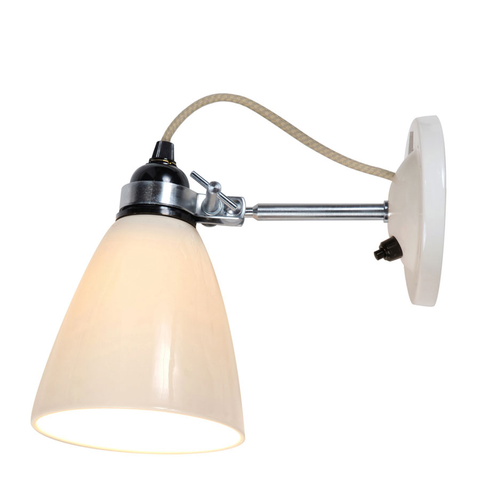 Original BTC - Hector Dome Wall Lamp - Natural / Switched - Lekker Home