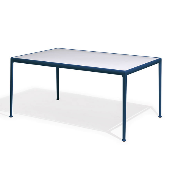 Knoll - 1966 Dining Table - Blue/White / Rectangle - Lekker Home