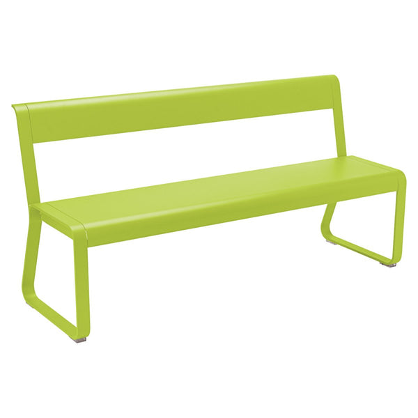 Fermob - Bellevie Bench with Back - Verbena / One Size - Lekker Home