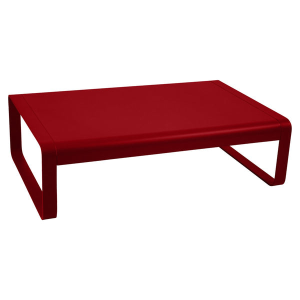 Fermob - Bellevie Coffee Table - Poppy Red / One Size - Lekker Home