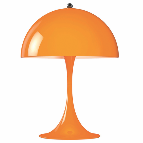 Louis Poulsen - Panthella Mini Table Lamp - Orange / Mini - Lekker Home